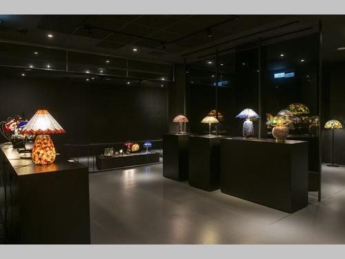 「聚・変 Fusion-台日玻璃(ガラス)芸術交流展」会場の一角=新竹市政府提供