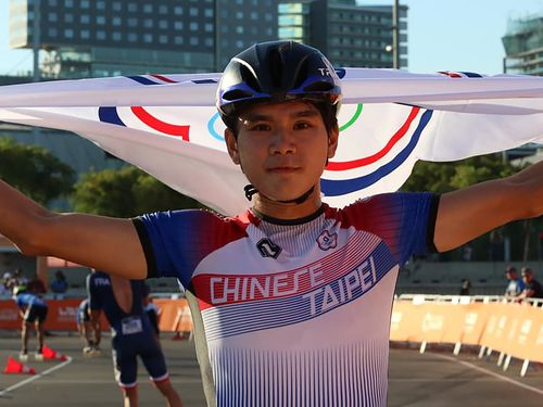 陳彦成=中華民国ローラースポーツ協会提供