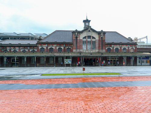 台中駅の二代目駅舎