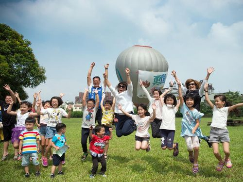 イベントを楽しむ子どもら=嘉義市政府提供