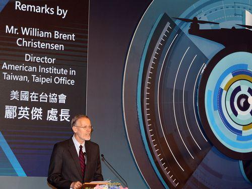 米国在台協会(AIT)台北事務所のクリステンセン所長