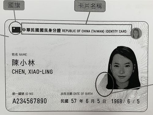 2023年3月までに全国民の電子身分証への移行を完了させる予定。画像は正式なデザインではない