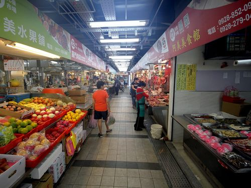 生鮮食品や雑貨などの店が集まる「光復市場」=台北市市場処ウェブサイトから