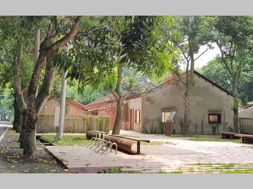 27日にお披露目された「虎尾建国眷村」の一部エリア
