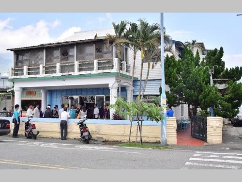 日本人官吏の邸宅だった新港教会会館=劉櫂豪服務処提供