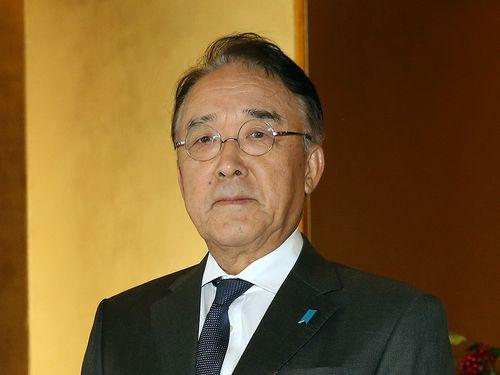 日本台湾交流協会台北事務所の沼田幹夫代表