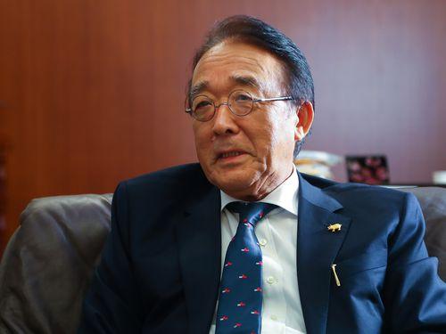 今月中旬で離任する日本台湾交流協会台北事務所の沼田幹夫代表