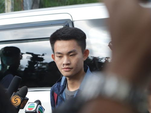 23日に出所した香港人の男