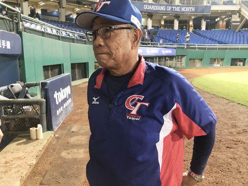 今回のキューバ戦を最後に台湾代表監督の座を退く李盈南氏