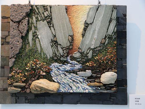 東部・花蓮県玉里で盛んな「石の芸術」