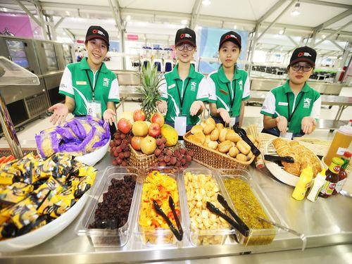 台北ユニバの選手村レストラン、メニューを大公開♪
