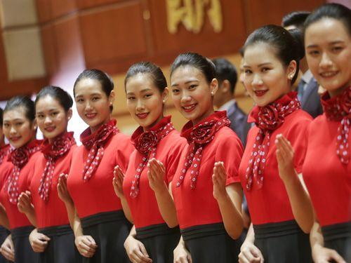 国慶節祝賀式典でのエスコートは私たちにお任せ!銘伝大学の美女たち