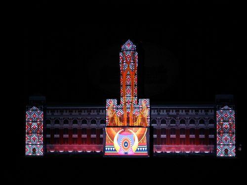 ニュイ・ブランシュ(白夜祭)で台北が不夜城に 総統府でも光の祭典