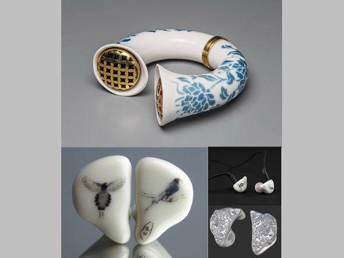 陶器の新しい可能性 イヤホンや音楽が聴けるブレスレットも