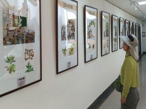 生態系保全の概念伝える挿絵展 タイワンツキノワグマの生息地で
