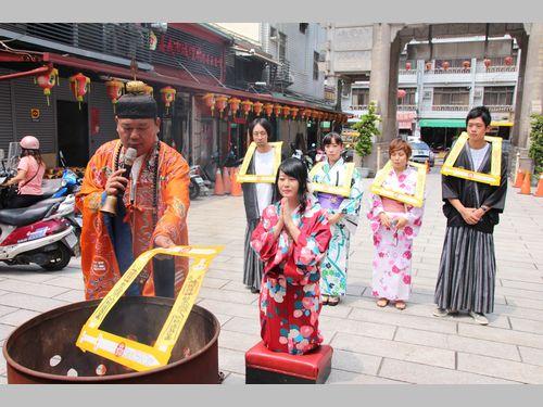 南部・嘉義の伝統的な宗教行事 日本人も魅力に引かれて参加