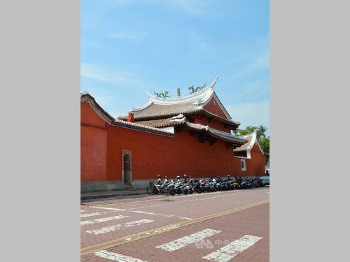 台湾南部地震で破損の祀典武廟、修復完了 美しい姿再び