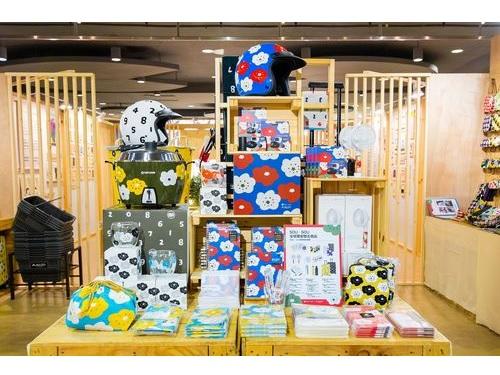 カラフルな大同電鍋も!誠品と京都のテキスタイルブランドがコラボ
