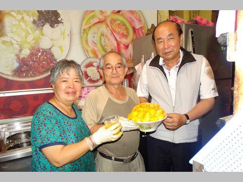 台南の「行列ができる」マンゴーかき氷 1年で1カ月だけ限定販売