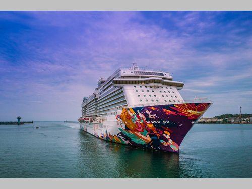 大型クルーズ船「ワールドドリーム」の新運営スタイル 基隆港が寄港地かつ発着地に