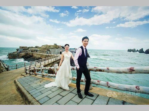 馬祖でしか見られない景色が目玉 結婚写真の撮影大会で観光促進