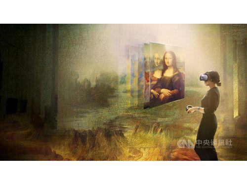 史上初の「モナリザ」VR映像 HTCがルーブルと共同で制作
