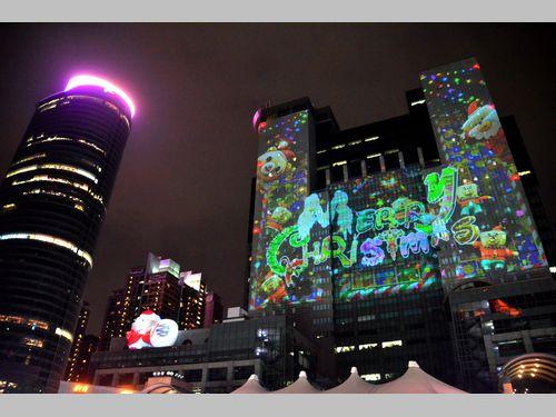 新北市のクリスマスイルミが点灯