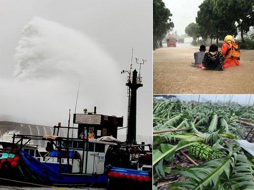 台風11号、9万戸超が停電 交通にも影響 台湾海峡に抜けるも要警戒