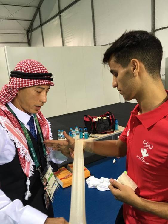 約旦奧運首金 台灣跆拳道教練帶出來的