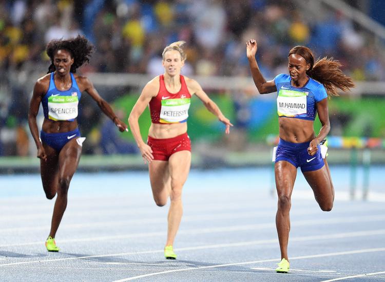 美國首次奧運奪女子400公尺跨欄金牌