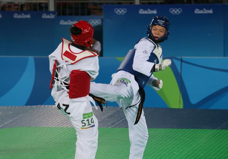 奧運跆拳道 莊佳佳首戰勝(4)