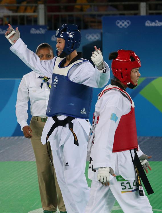 奧運跆拳道 莊佳佳首戰勝(7)