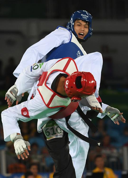 奧運跆拳道 劉威廷8強止步