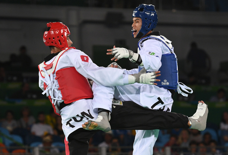 奧運跆拳道 劉威廷8強止步(3)