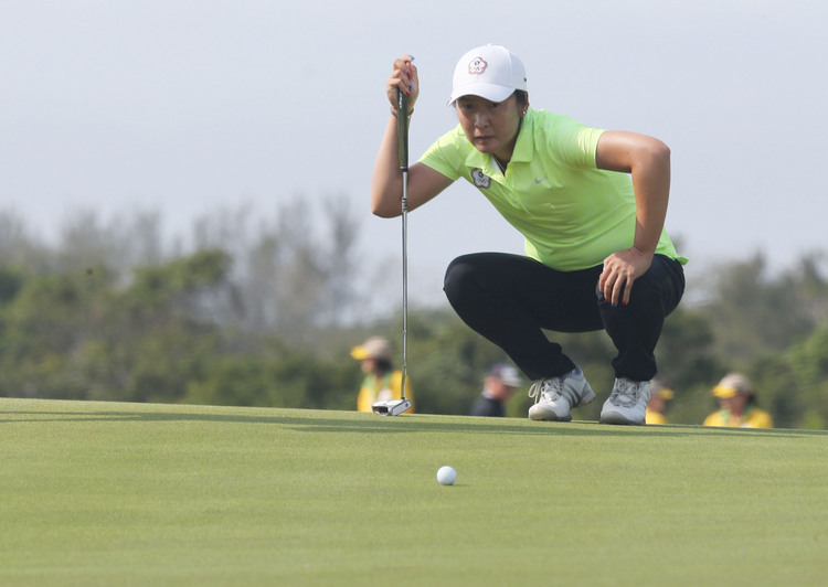 奧運女子高爾夫 龔怡萍並列第31位(3)