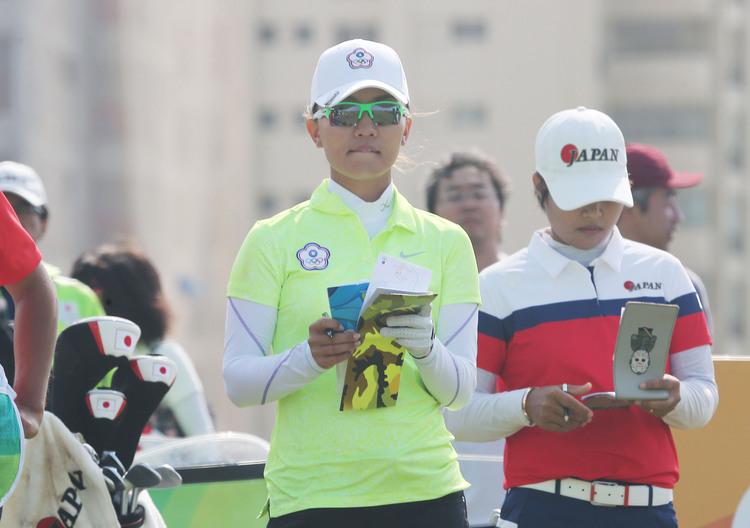奧運女子高爾夫 盧曉晴並列第16位(2)