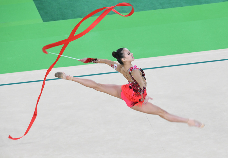 奧運韻律體操 孫延在第4(2)