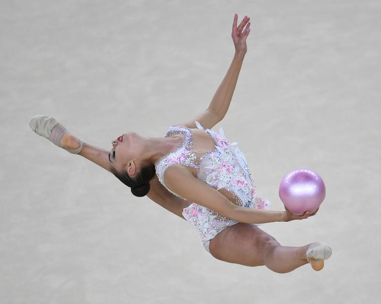 奧運韻律體操 俄羅斯馬穆奪金(4)