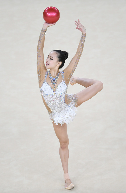 奧運韻律體操  南韓孫延在第4(3)