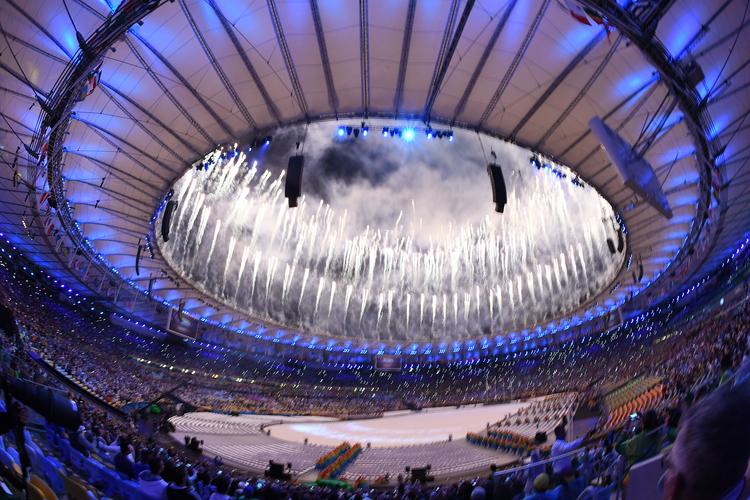 里約奧運閉幕 煙火絢麗(2)