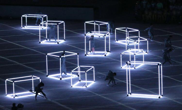 東京奧運籌委會在里約閉幕式表演(2)