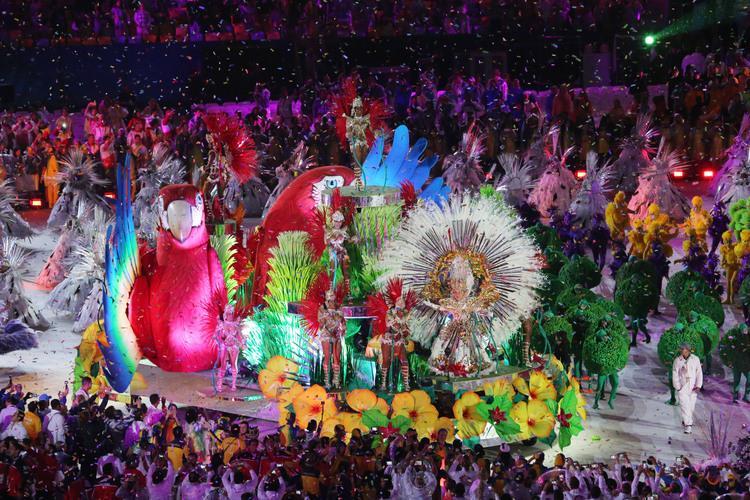 里約奧運 森巴歌舞聲中閉幕(1)