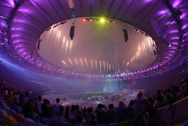 里約奧運閉幕煙火秀(2)