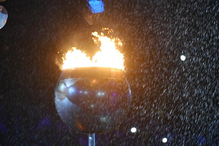 熄滅聖火 宣布本屆奧運閉幕(1)