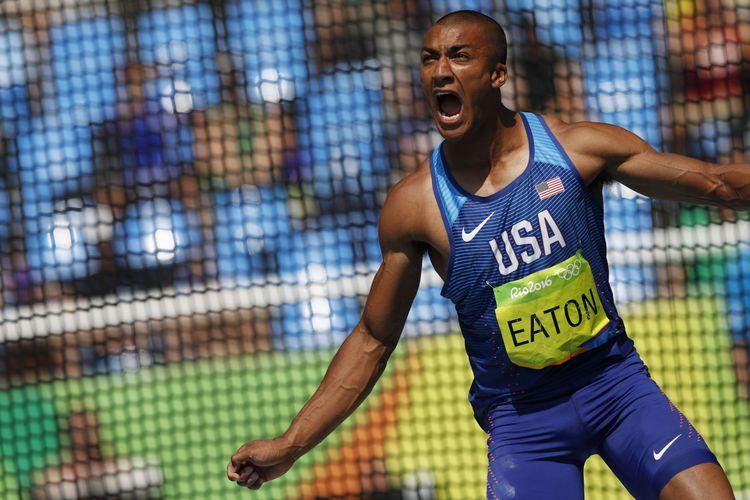 男子十項全能 伊頓衛冕成功平奧運紀錄