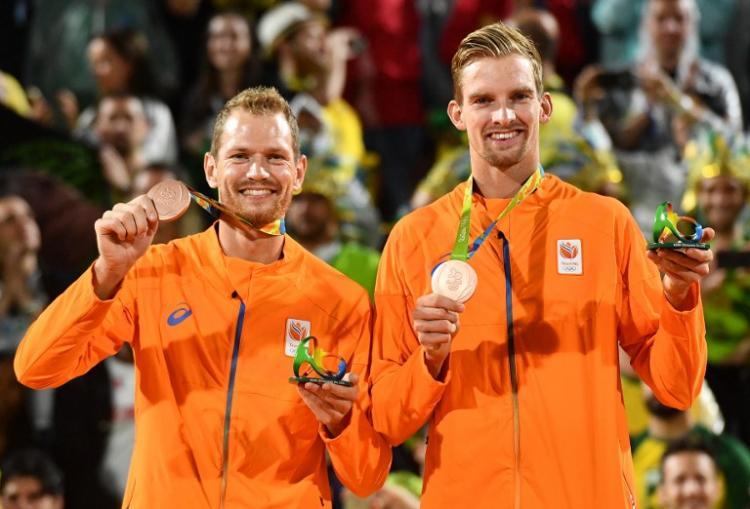 奧運男子沙灘排球 荷蘭擊敗俄羅斯奪銅