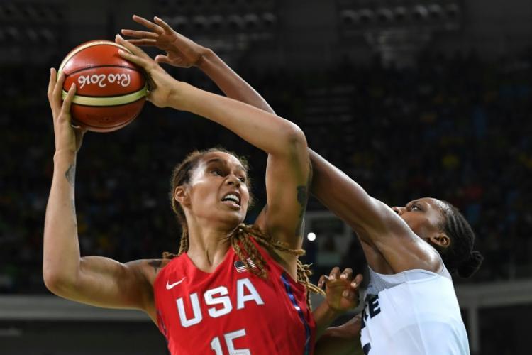 奧運女籃  美國西班牙爭金