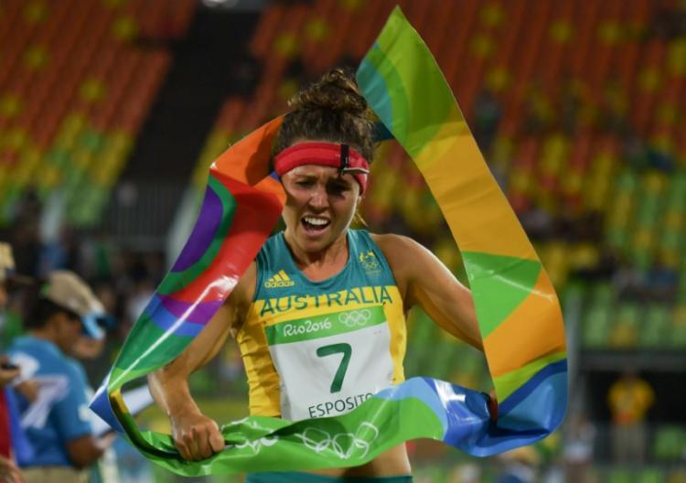 奧運女子現代五項 澳洲選手破奧運奪冠