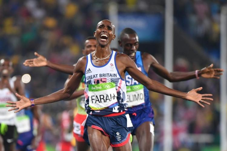 奧運男子5000公尺 法拉摘金