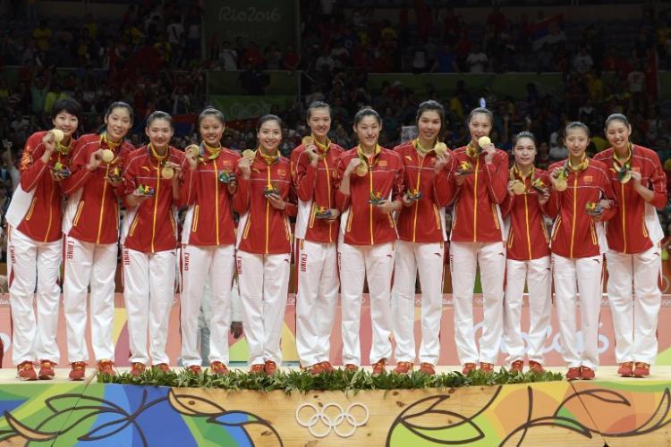 奧運女子排球 大陸女排攻下第3金